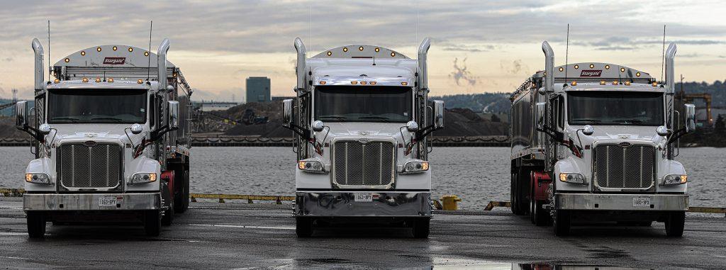 Joseph Haulage trucks
